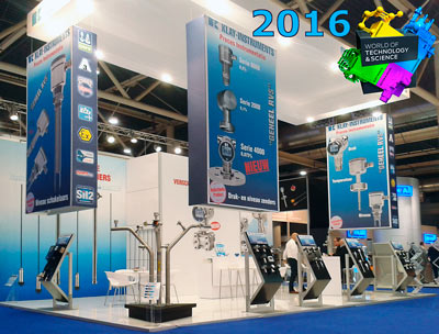 Klay Instruments beurs World of Technology Science 2016